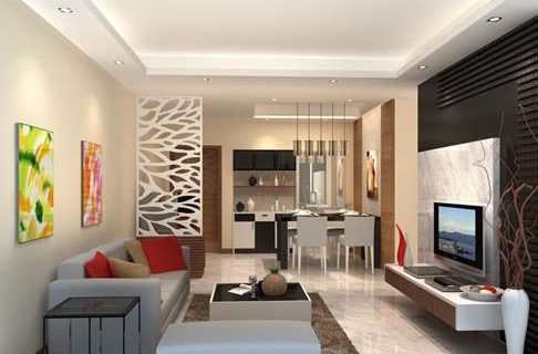 Rumah dengan ruang minimalis