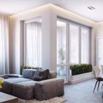 Desain Interior minimalis Rumah Kecil Mewah 2 lantai