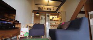 Desain Interior minimalis Rumah Kecil Mewah 2 lantai 9
