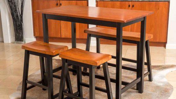 gambar meja untuk cafe dengan kursi