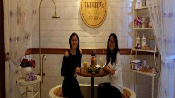 Nanny's Pavillon Restoran Dengan Konsep Yang Berbeda Dan Menarik