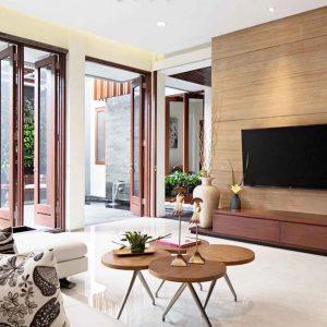 Desain Ruanga keluarga dengan konsep minimalis